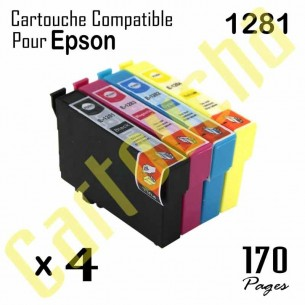 Pack 4 Cartouches Encre...